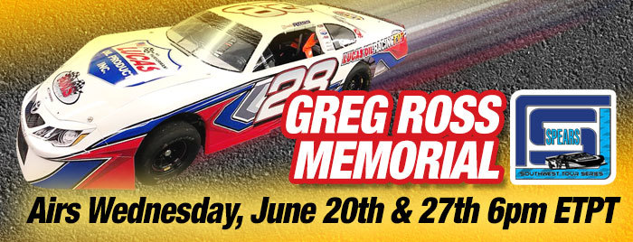 Greg Ross Memorial Late Model Race